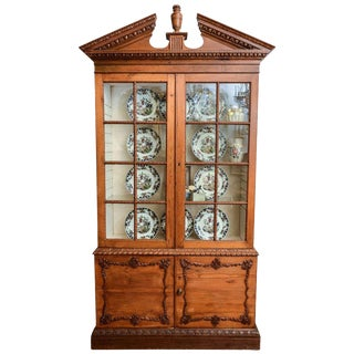 19th Century French Neoclassical Cabinet For Sale