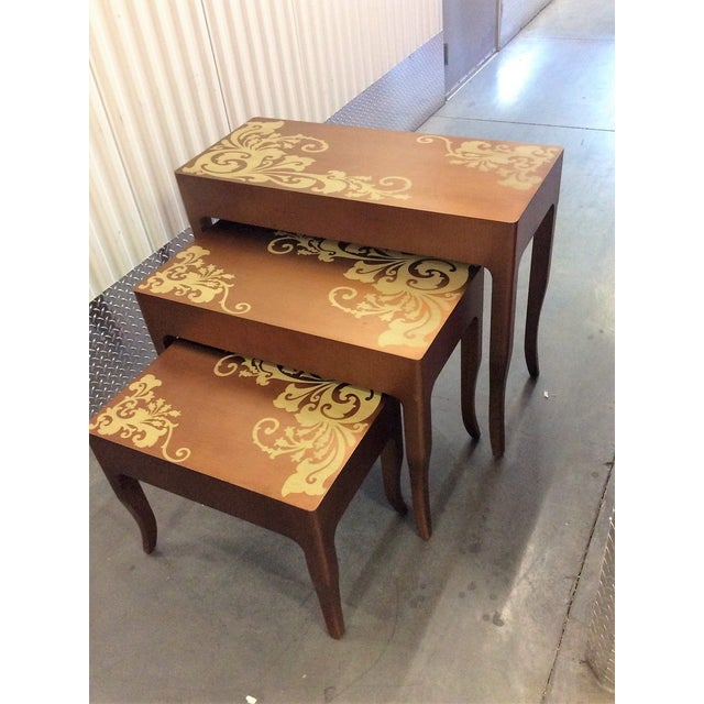 Contemporary Nesting Tables - Set of 3 - Image 4 of 8