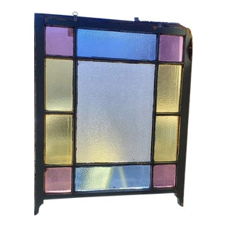 Edwardian Period Stained Glass Window C.1910 For Sale