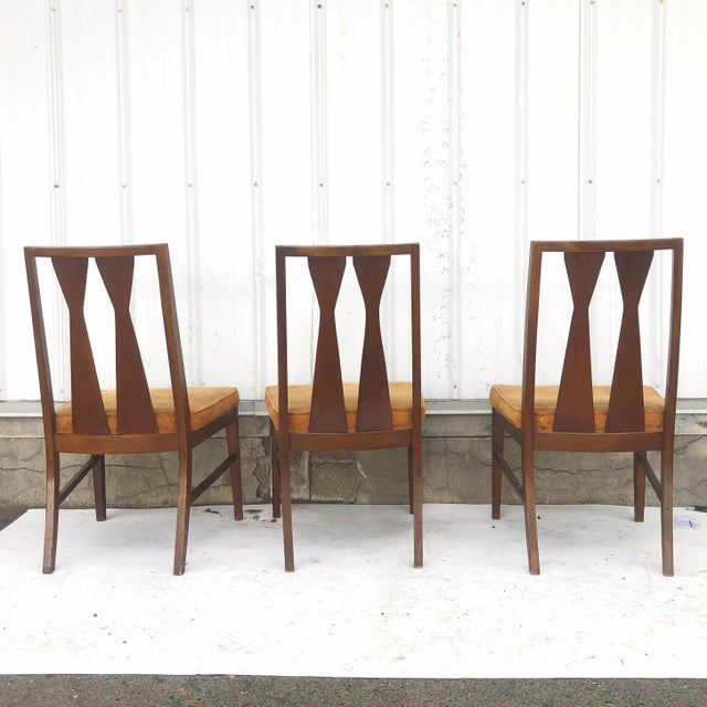 Mid-Century Dining Set With Large Table and Six Chairs For Sale - Image 9 of 13