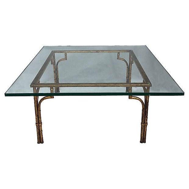Gilt & Glass Coffee Table - Image 1 of 5