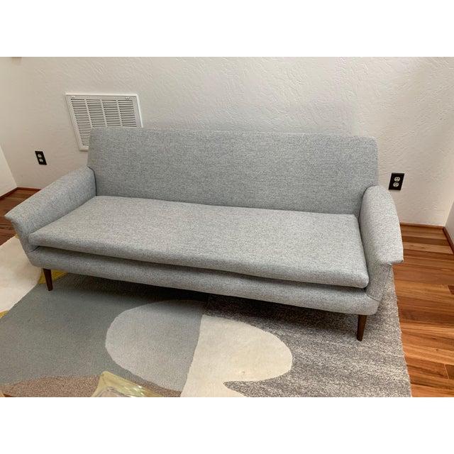 Vintage Mid Century Modern Elegant Sofa For Sale - Image 13 of 13