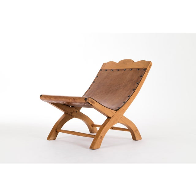 Clara Porset Clara Porset Butaque Lounge Chair For Sale - Image 4 of 8