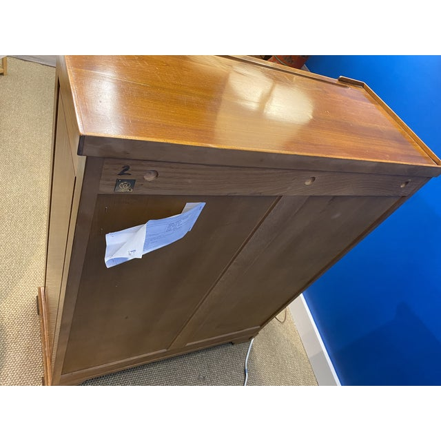 French Oak Apothecary Cabinet For Sale - Image 4 of 13