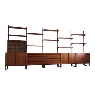 "Poul Cadovius ""The Royal Shelving Unit"" in Teak For Sale"