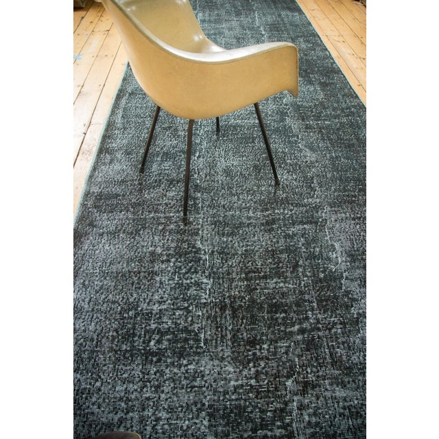 """Vintage Overdyed Distressed Runner - 5' X 13'3"""" - Image 8 of 10"""
