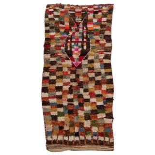Vintage Moroccan Zemmour Zaer Rug - 5′ × 10′3″ For Sale