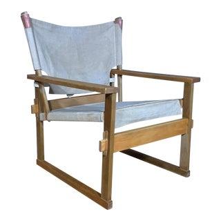 1960s Kai Winding Safari Chair for Poul Hundevad For Sale