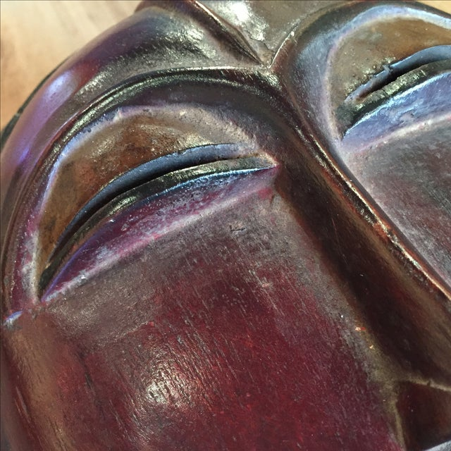 Decorative Kpan Mask Baule Tribe, Ivory Coast - Image 4 of 7