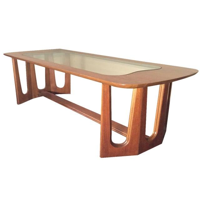 Bassett Brasilia Style Coffee Table For Sale