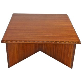 Frank Loyd Wright Coffee Table for Heritage Henredon For Sale