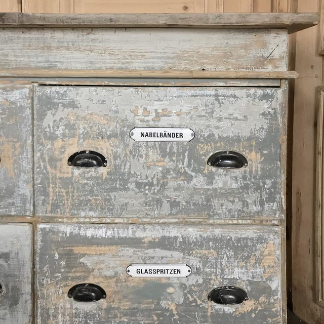 Grand 19th Century Apothecary Store Counter For Sale - Image 10 of 13