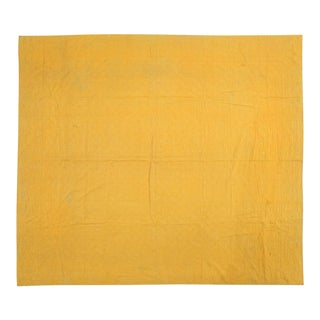 Handmade Yellow Quilt For Sale