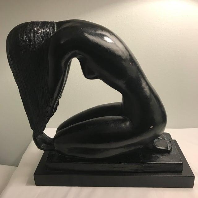 Vintage Nude Statue by Mort Malkin - Image 8 of 11