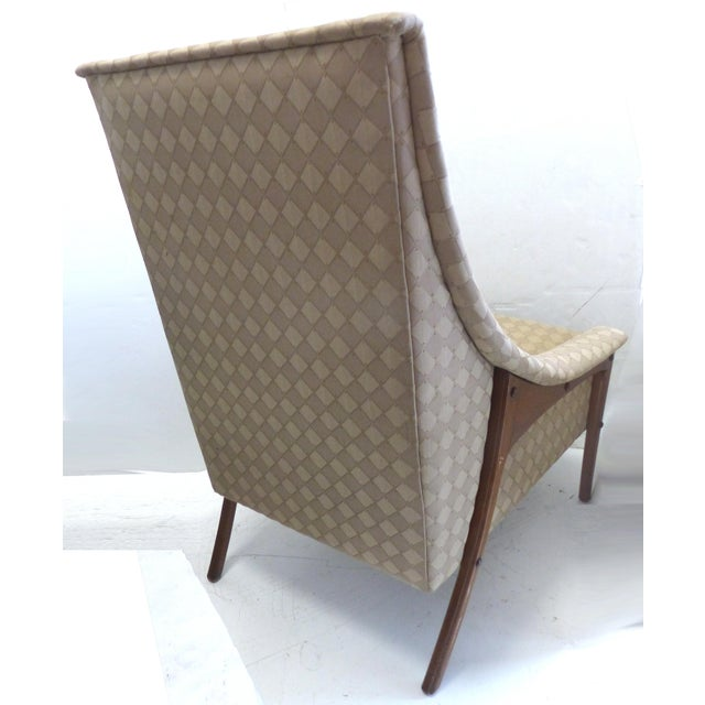 Mid-Century Adrian Pearsall Style Chairs - A Pair - Image 5 of 8