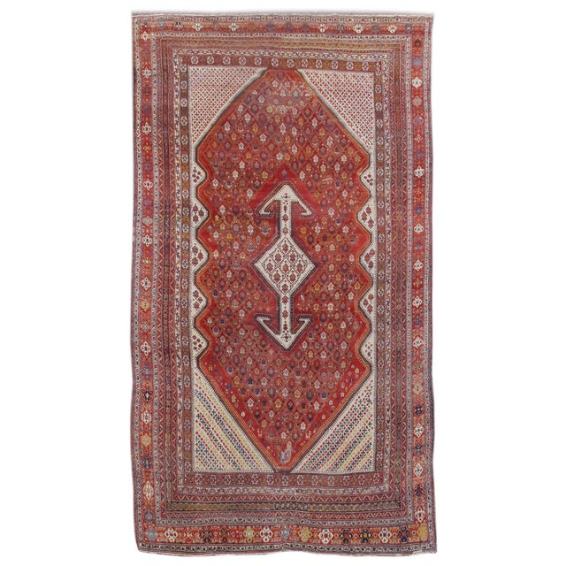 Islamic Bakhtiari Persian Rug - 12′ × 21′4″ For Sale - Image 3 of 3