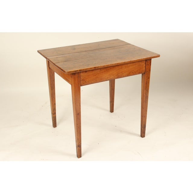 19th Century Neoclassical Fruit Wood Occasional Table For Sale - Image 12 of 12