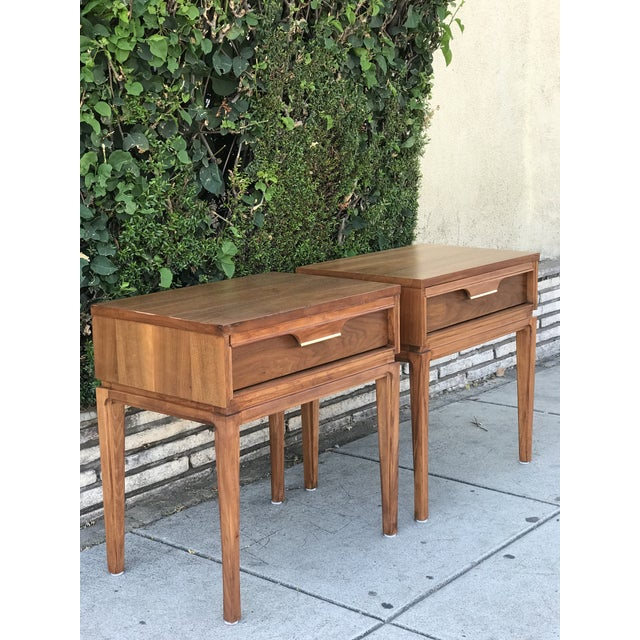 Mid-Century Modern Nightstands by Basic Witz For Sale - Image 13 of 13