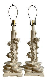 Image of Chinoiserie Table Lamps