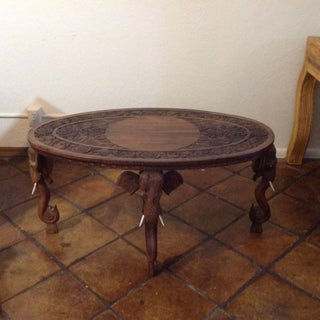 Anglo-Indian Elephant Motif Coffee Table Preview