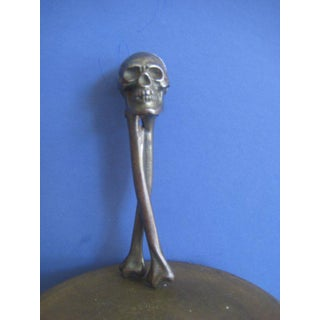 Early 20th Century Vintage English Sculptural Skull Nutcracker Preview