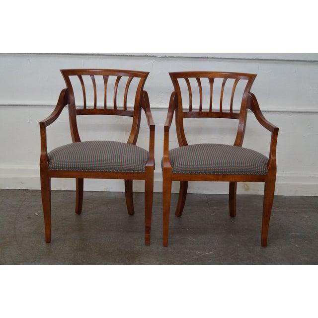 Baker Milling Road Biedermeier Style Chairs - Pair - Image 2 of 10