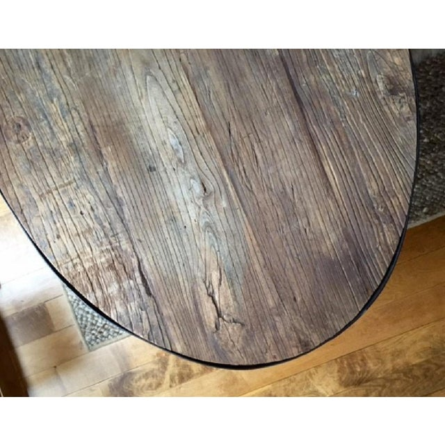 Restoration Hardware Aero Oval Coffee Table - Image 6 of 6