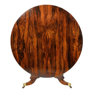 Regency Rosewood Breakfast Table For Sale