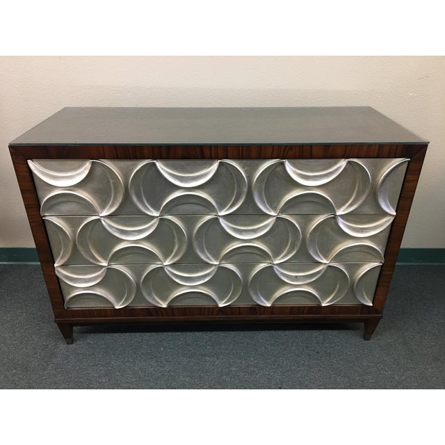 """Design Plus Gallery presents a Caracole """"Tie One On"""" three drawer dresser. Inspired by """"Wrapped Up With Ribbon"""", this..."""