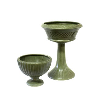 Haeger Ceramic Urns - a Pair For Sale