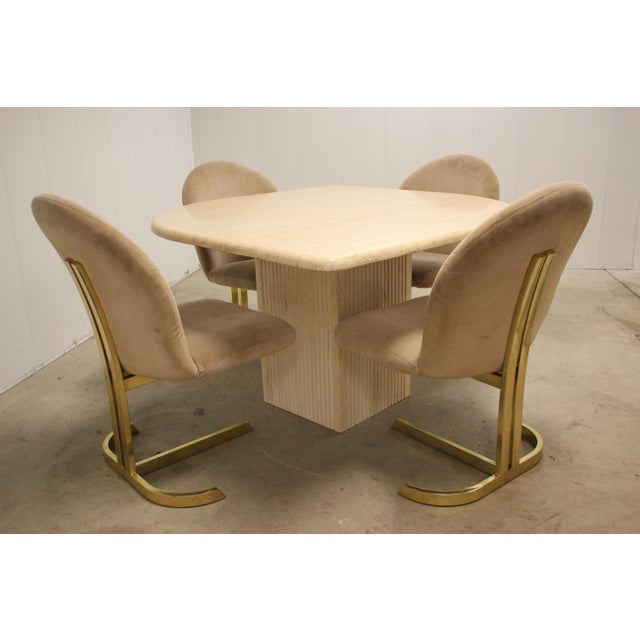 Space Age Milo Baughman Style Dining Room Table & Chairs For Sale - Image 13 of 13