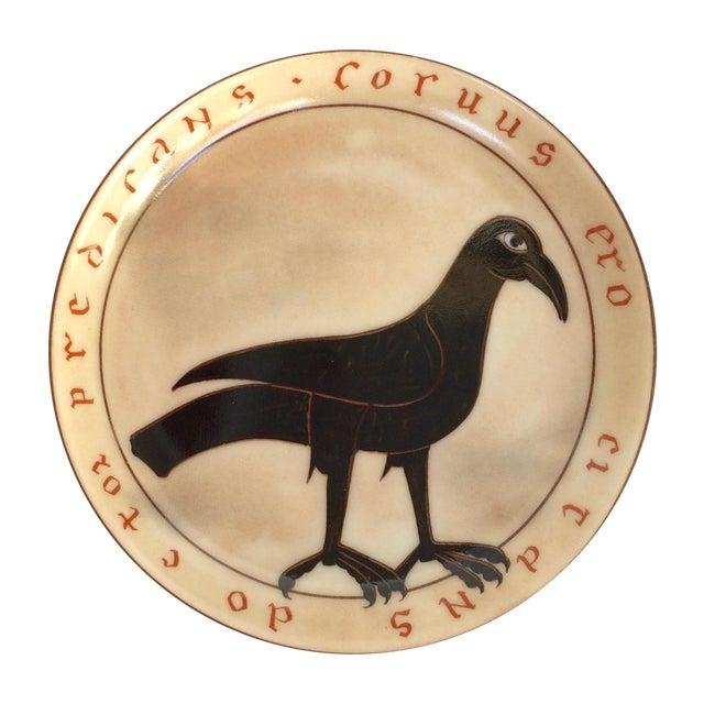 Black Bird Ashtray/Trinket Dish For Sale