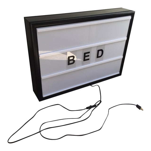 Bxxlght Lightbox with Marquee Letters - Image 2 of 7