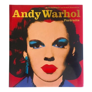 """ Andy Warhol Portraits "" Rare 1st Edtn Vintage 1993 Iconic Collector's Volume Hardcover Book For Sale"