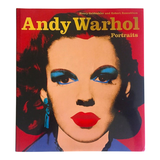 """"""" Andy Warhol Portraits """" Rare 1st Edtn Vintage 1993 Iconic Collector's Volume Hardcover Book For Sale"""