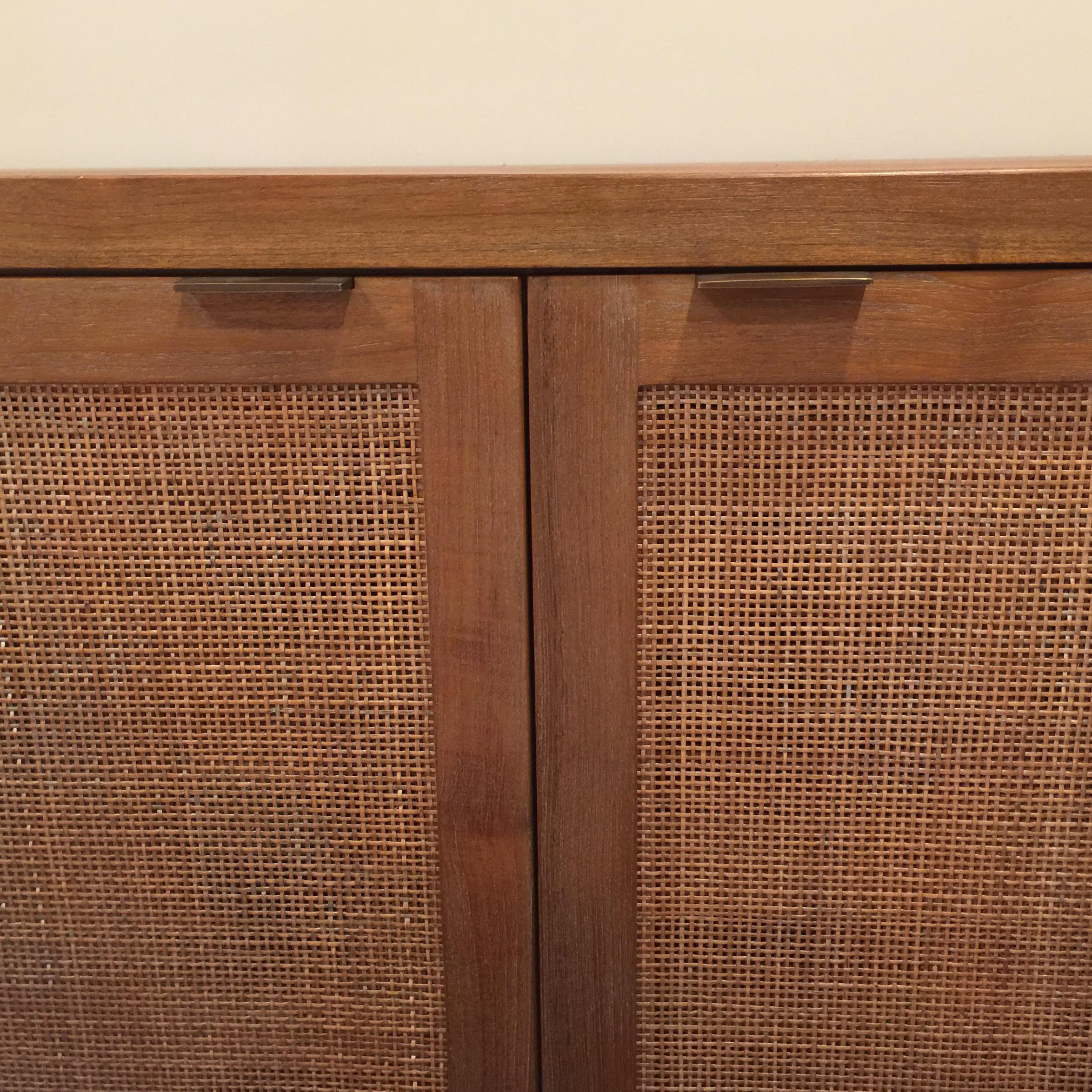 Crate And Barrel Teak Media Console   Image 2 Of 8