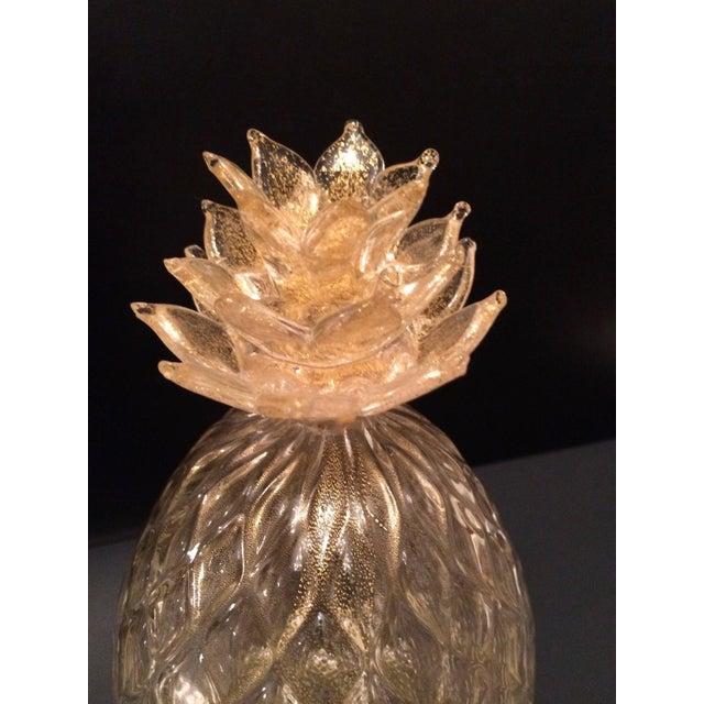 Seguso Gold Murano Pineapple - Image 2 of 2