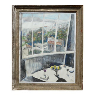 Large, Framed - View of Provence, France For Sale
