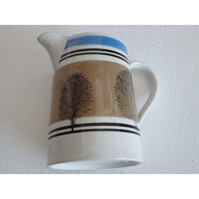 Mid 19th Century 19thc Mocha Seaweed Milk Pitcher For Sale - Image 5 of 7