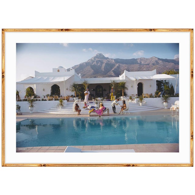 El Venero, the Moorish villa of Hector and Chico de Ayala in Marbella, Spain, 1967. A gorgeous scene in an exquisite...