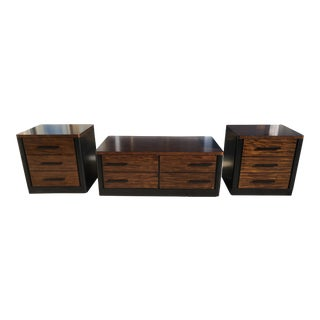 20th Century Traditional Peters Revington 3 Piece Coffee Table Set - 3 Pieces For Sale