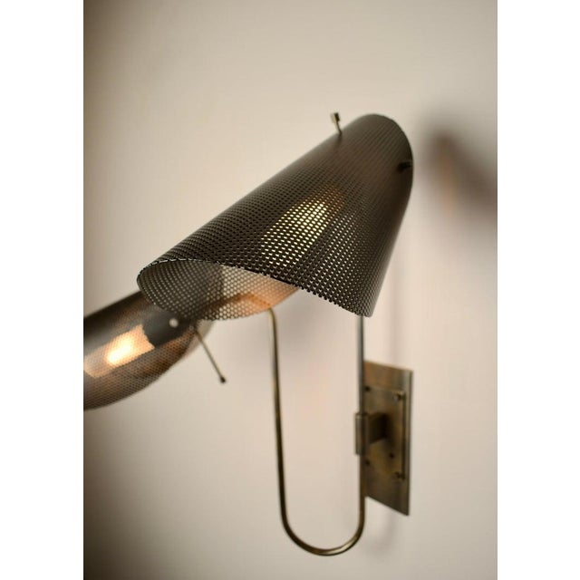 Not Yet Made - Made To Order Tulle 2 Wall Lamp in Bronze + Black Enamel Mesh by Blueprint Lighting, 2019 For Sale - Image 5 of 8