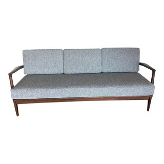 Vintage Mid-Century Modern Kofod Larsen for Selig Danish Modern Sofa For Sale