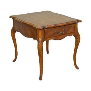 Ethan Allen Country French 1 Drawer Side Table