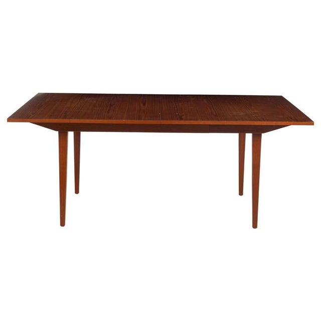 George Nelson Herman Miller Dining Table, Mid-Century Modern Teak Wood For Sale - Image 13 of 13