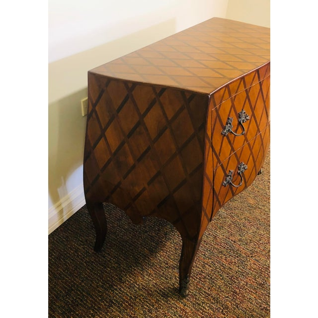 1980s Vintage Trouvailles Bombe Style Dresser For Sale - Image 5 of 11