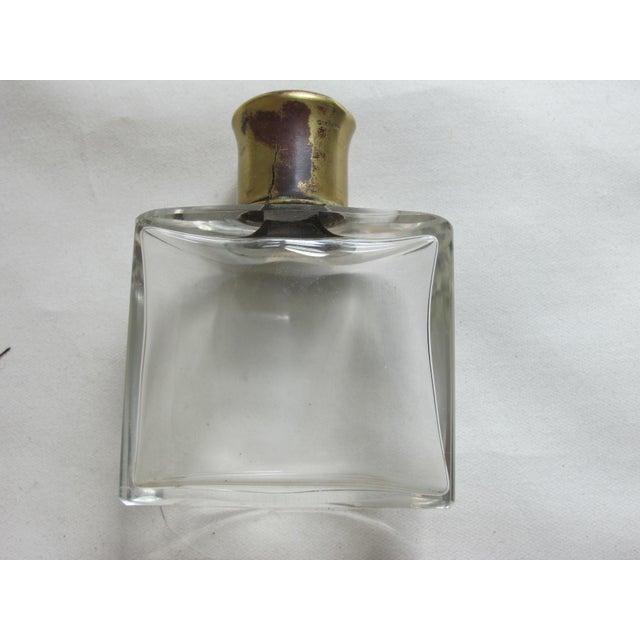 Enamel Top Scent Bottles - Set of 4 For Sale - Image 4 of 4