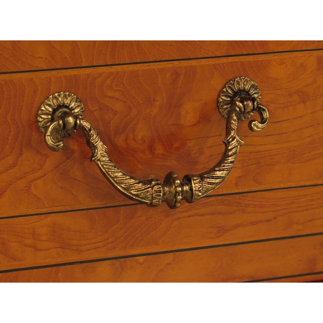 Italian Inlaid Walnut Sideboards - A Pair - Image 10 of 11