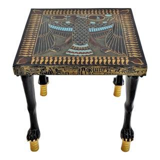 Egyptian Nekhbet Occasional Table