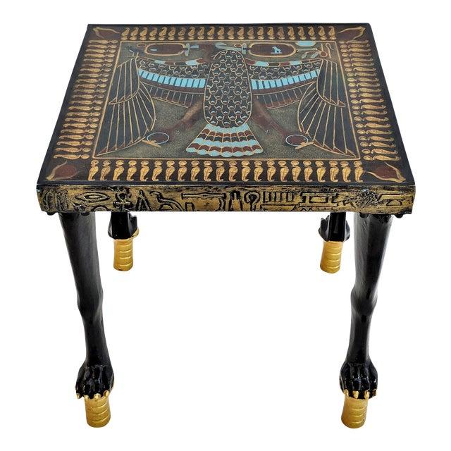 Egyptian Nekhbet Occasional Table - Image 1 of 11